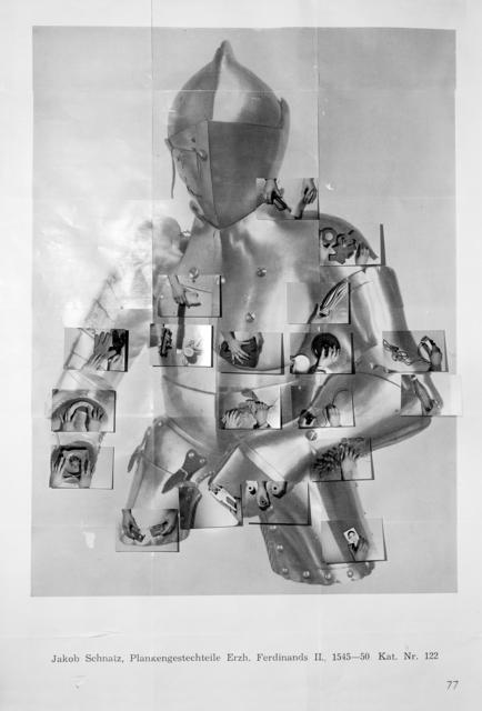 , 'Armor (Jakob Schnatz, Plankengestechteile Erzh. Ferdinands II., 1545-50 Kat. Nr. 122),' 2017, Foxy Production