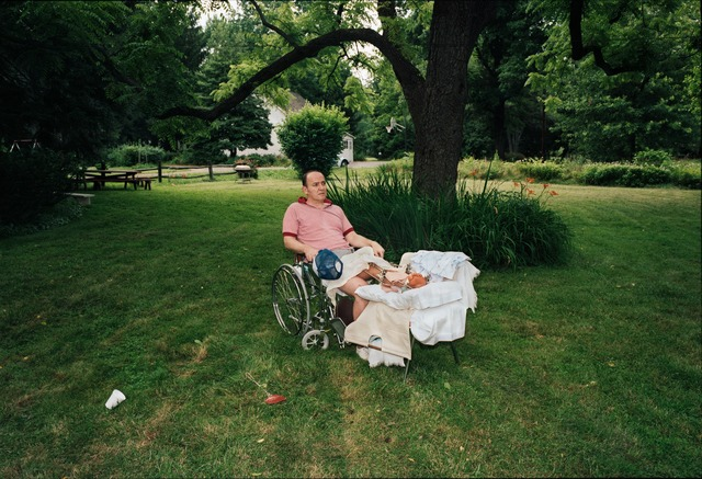 , 'My Father in the Backyard, Far Hills, New Jersey,' 1985, Aperture Foundation