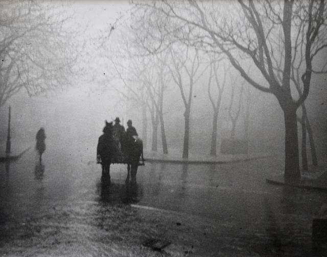 André Kertész, 'Hazy Day, Budapest', 1920, Photography, Gelatin silver print, Scheinbaum & Russek Ltd.