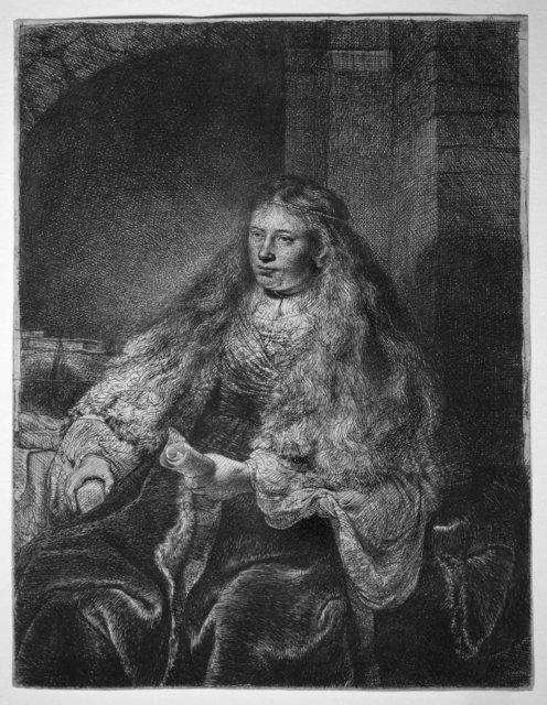 Rembrandt van Rijn, 'The Great Jewish Bride', 1635, R. S. Johnson Fine Art