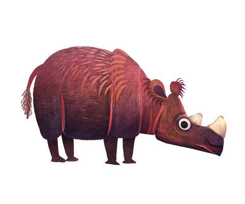 Brendan Wenzel, 'Sumatran Rhinoceros ', ArtStar