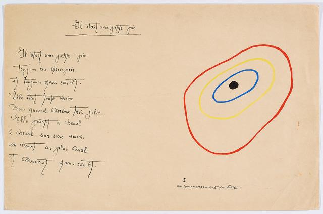 "Joan Miró, '""Il était une petite pie"" (There Was a Little Magpie) – Sheet II', 1928, Cerbera Gallery"