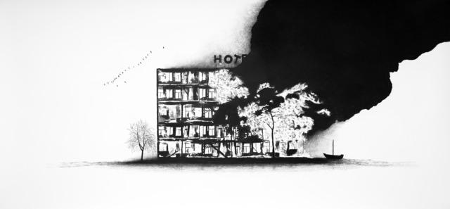 , 'Série Anatomia do Fogo - Das Hotel,' 2014, Galeria Lume