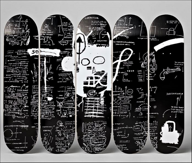 , 'Set of Five (5) Demon Voodoo Inspired Skateboards ,' 2015, Alpha 137 Gallery