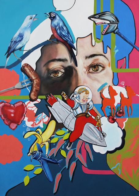 , 'Glut,' 2016, StolenSpace Gallery