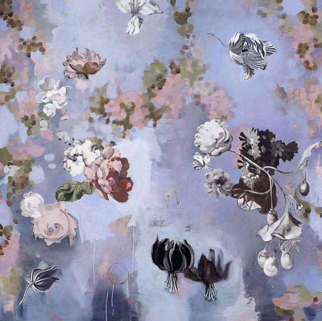 Stephanie Peek, 'Til Paradise II/ floating flowers 72 X 72', 2011, Andra Norris Gallery