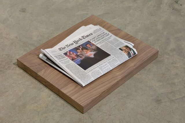 , 'Yesterday's Newspaper,' 2007, The FLAG Art Foundation