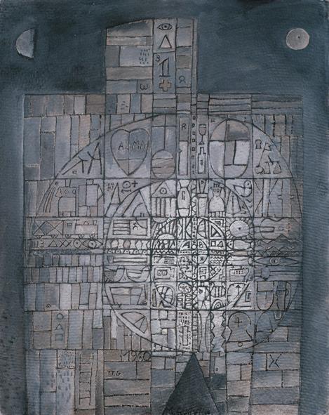 , 'Hombre constructivo en Espiral,' 1960, Museo Gurvich