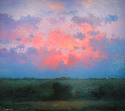 Hal Holoun, 'Morning Painting/Sarpy County', 2011-2012, Kiechel Fine Art