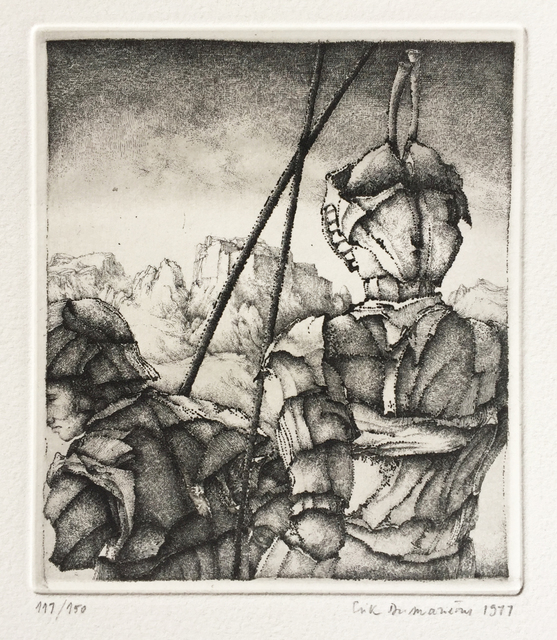 , 'Deux guerriers,' 1977, Childs Gallery