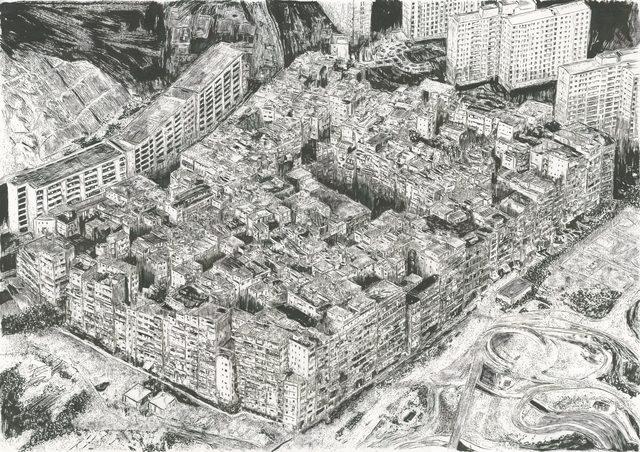 , 'Kowloon Walled City,' 2019, Urban Spree Galerie