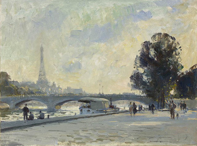 , 'View of the Seine, Paris,' , Portland Gallery