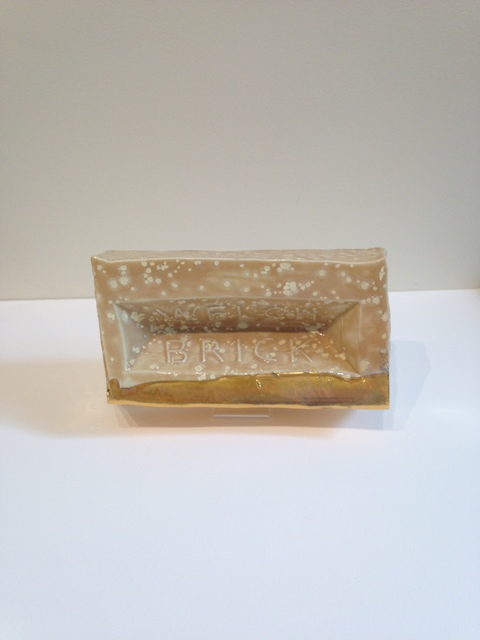 , 'Fetish Brick,' 2017, J. Cacciola Gallery