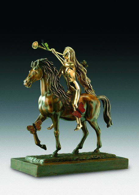 Salvador Dalí, 'Lady Godiva With Butterflies', 1976, Sculpture, Bronze lost wax process, Dali Paris