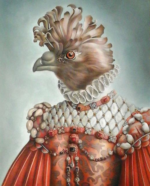 Amy Hill, 'Bird in Orange', 2019, M.A. Doran Gallery