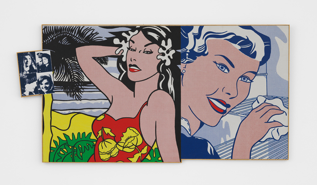 , 'Andy Warhol, 'Jackie', 1964 (four times); Roy Lichtenstein, 'Aloha', 1962 and 'The Refrigerator', 1962,' 1971, The FLAG Art Foundation