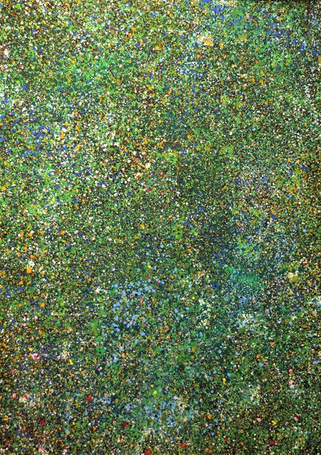, 'Green Multiverse,' 2019, The Schoolhouse Gallery