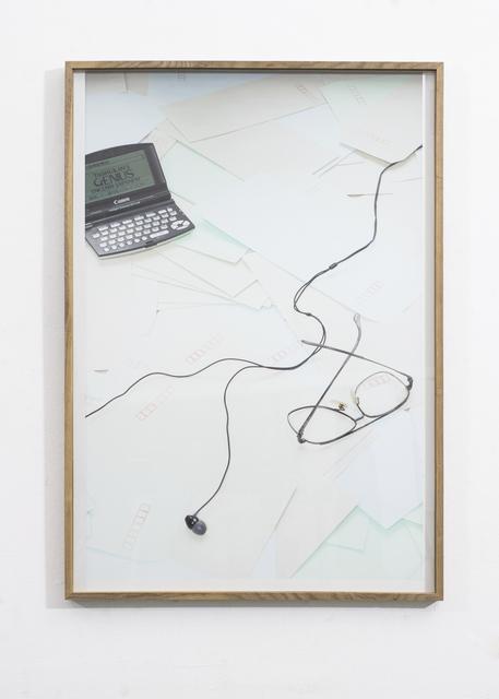 , 'Genius,' 2015, Galerie Nathalie Halgand