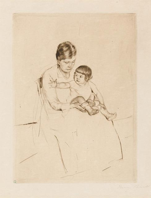 Mary Cassatt, 'The Stocking', 1890, Galerie d'Orsay
