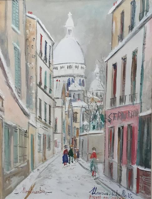 , 'Montmartre sous la neige,' 1920, Opera Gallery