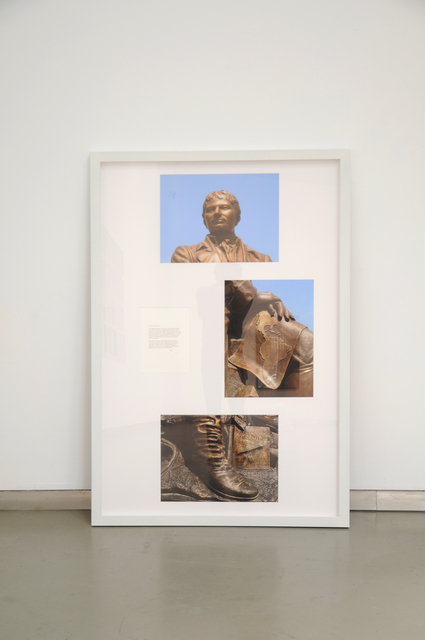 , 'My dearly beloved R. (Monument to Alexander von Humboldt),' 2013, Galeria Filomena Soares