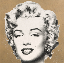 """Diamond Girl"" (Marilyn Monroe Gold)"
