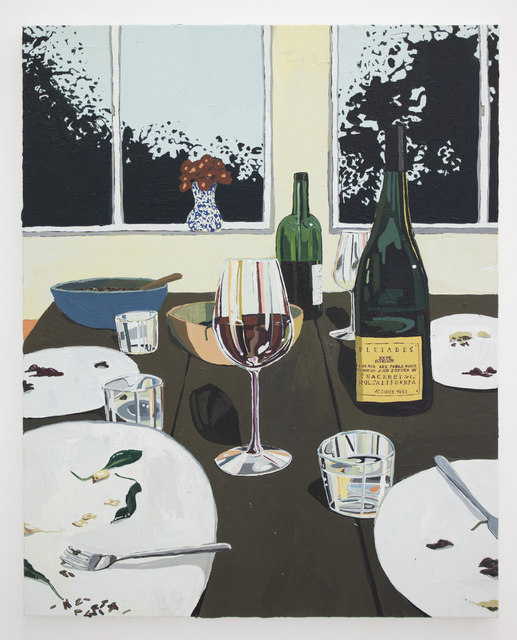 Hilary Pecis, 'Dinner Table and Window', 2018, Halsey McKay Gallery