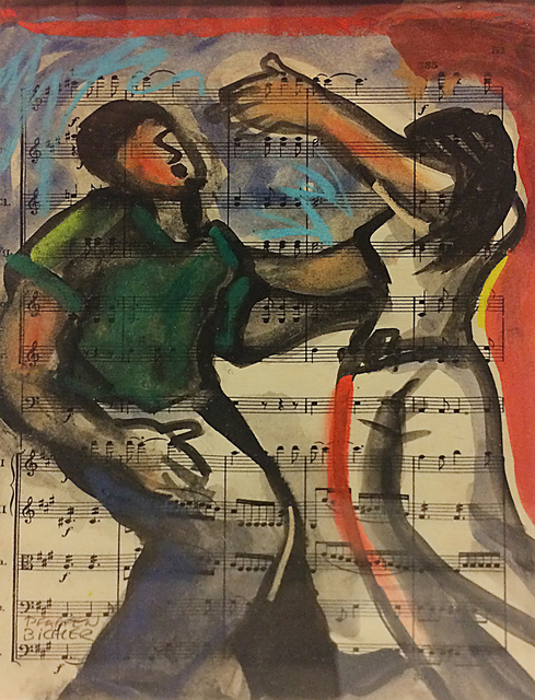 , 'Beethoven Dance #3,' , The South Street Gallery