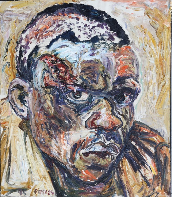 , 'Oil Study for Samuel,' 1995, Charles Nodrum Gallery