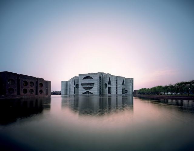 , 'National Assembly Building in Dhaka, Bangladesh,' 1962, Kimbell Art Museum