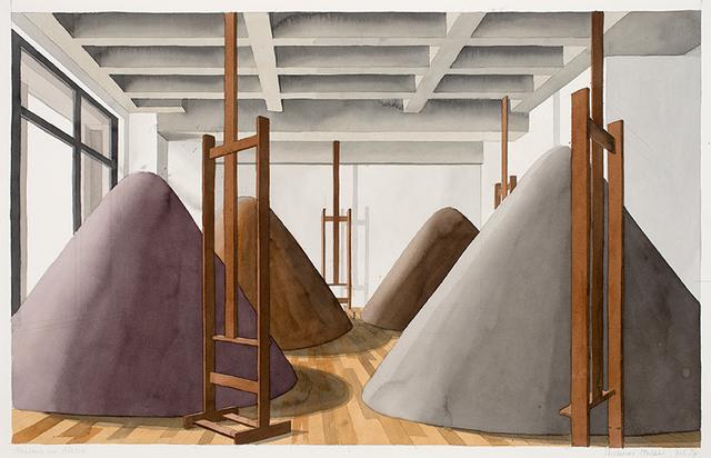 , 'Aushub im Atelier (Juli 14), 2014,' 2014, Ditesheim & Maffei Fine Art