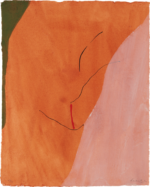 Helen Frankenthaler, 'Sanguine Mood', 1971, Phillips