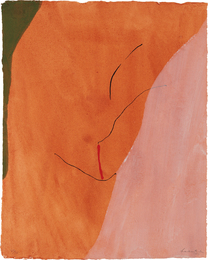 Helen Frankenthaler, 'Sanguine Mood,' 1971, Phillips: Evening and Day Editions (October 2016)