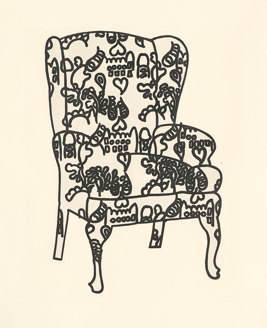 , 'Love Chair,' 2006, Sims Reed Gallery
