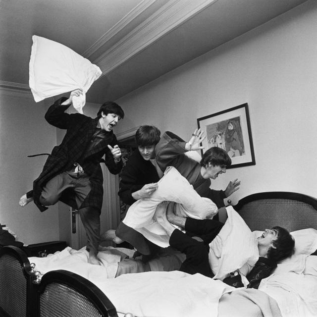 , 'Beatles Pillow Fight, Paris ,' 1964, TASCHEN