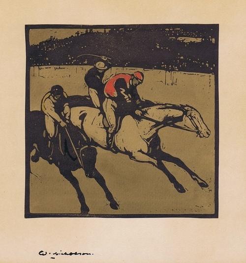 , 'Racing,' 1898, Gerrish Fine Art