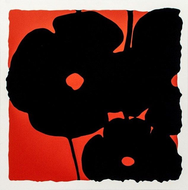 , 'Red Reversal Poppies,' 2015, Vertu Fine Art