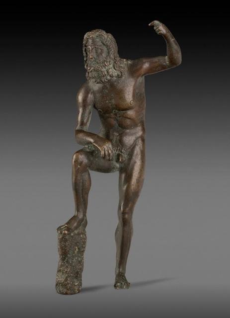 , 'Poseidon(replica),' 100 BC -AD 90, Jehangir Nicholson Art Foundation