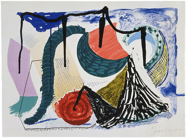 David Hockney, 'Catherine's Walk', 1994, Upsilon Gallery