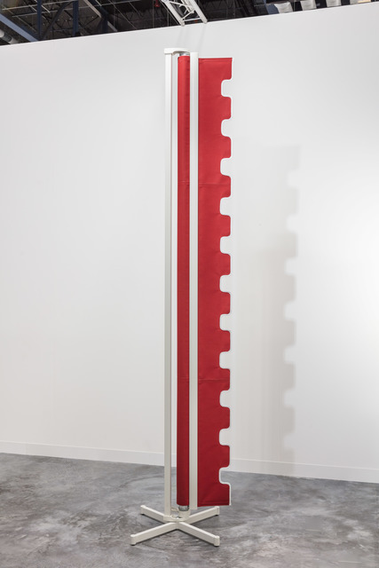 Nicole Wermers, ' Awning sculpture (red)', 2016, Jessica Silverman Gallery