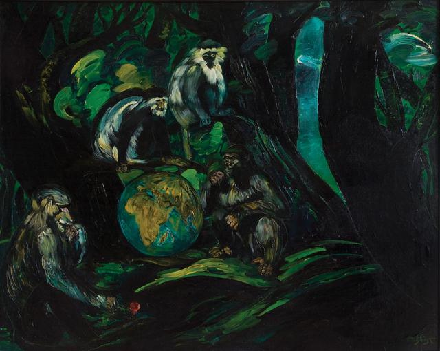 , 'Enigma,' 1983, Galerie Kornfeld