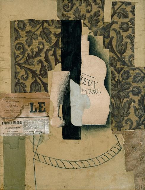 , 'Nature morte, bouteille et verre,' 1913, Vancouver Art Gallery
