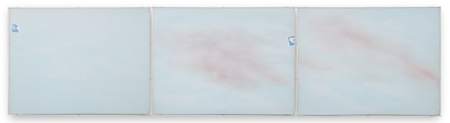 , 'Photo Cloud Painting Triptych,' 1969-1970, Kohn Gallery