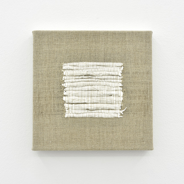 , 'Composition for Woven Square Solid (White),' 2017, PRAZ-DELAVALLADE