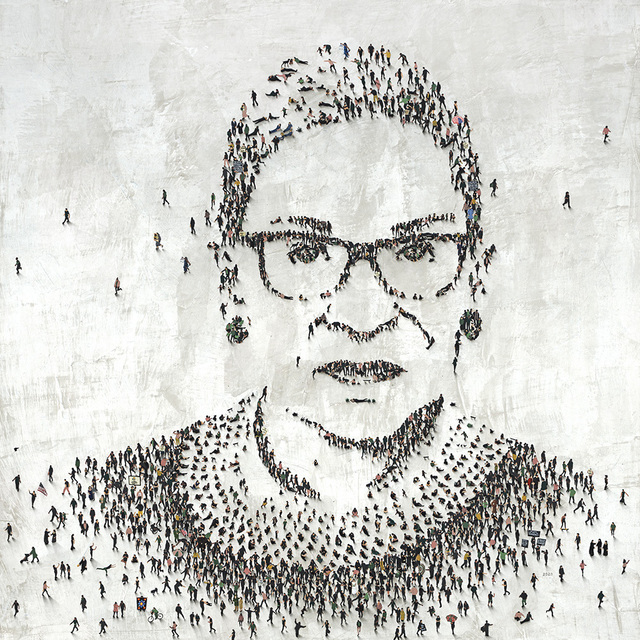 Craig Alan, 'RBG (Ruth Bader Ginsburg) - Limited Edition', 2021, Print, Archival Pigmented Print on Canvas, Art Leaders Gallery
