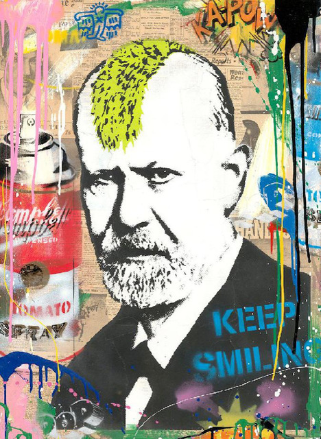 Mr. Brainwash, 'Victory of the Mind', 2019, Painting, Silkscreen and Mixed Media on Paper, Maddox Gallery