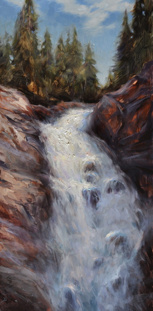 , 'Fish Creek Falls,' 2016, Abend Gallery