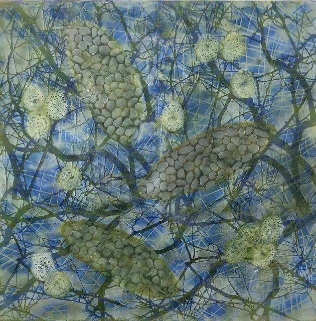 , 'Bio Patterns 16,' 2018, Fountain Street