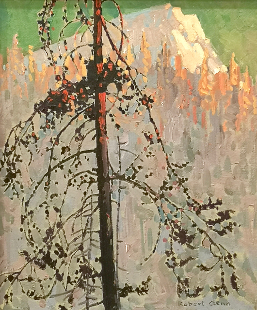 Robert Genn, 'Late Afternoon Cayoosh', 1972, Painting, Oil on Board, Madrona Gallery