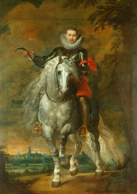 , 'Portrait of Don Rodrigo Calderon on Horseback (1577/8-1625) ,' ca. 1612-1615, Royal Collection Trust